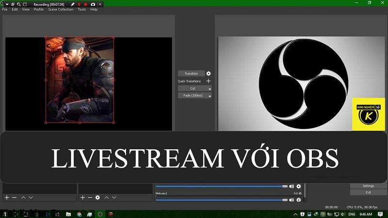 Hướng dẫn sử dụng phần mềm Live Stream Facebook OBS trên máy tính