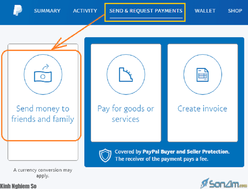 Hướng dẫn gửi tiền ra nước ngoài qua Paypal, rút tiền về tài khoản ATM