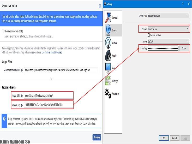 Hướng dẫn sử dụng phần mềm Live Stream Facebook OBS trên máy tính hình 1