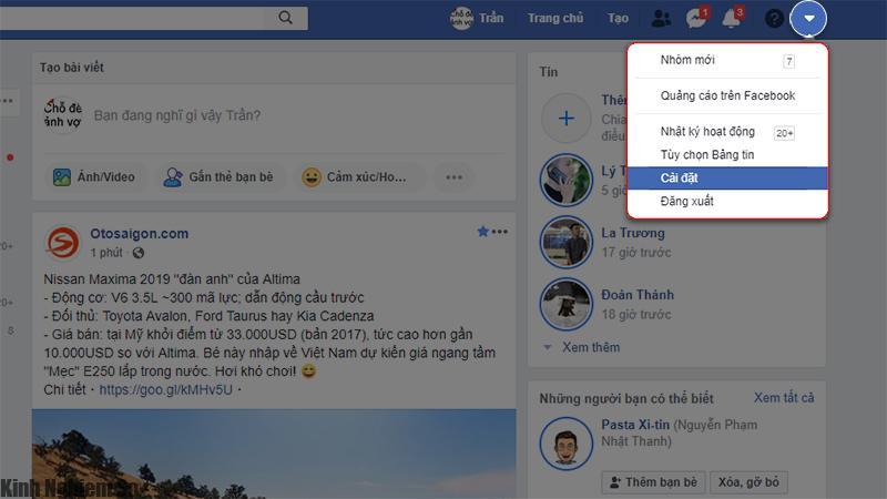 Mẹo chặn bình luận xúc phạm theo từ khóa trên Facebook hình 1