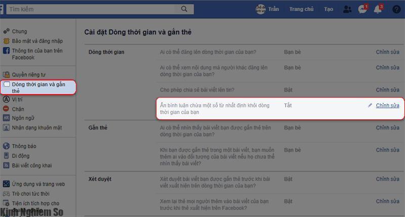 Mẹo chặn bình luận xúc phạm theo từ khóa trên Facebook hình 2