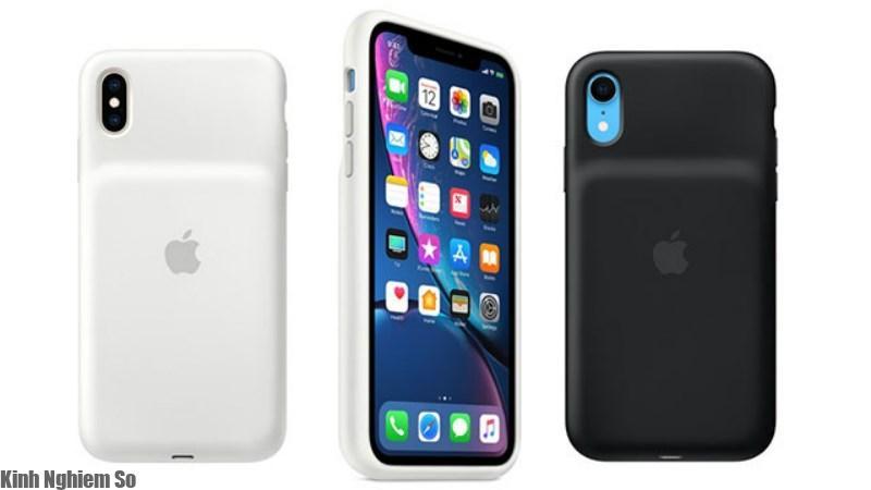 Ốp lưng kiêm sạc dự phòng cho iPhone Xr, Xs và Xs Max của Apple ra mắt