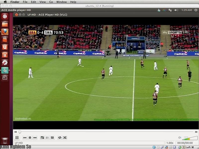 Cách xem bóng đá bằng Acestream tốc độ cao, sắc nét nhất