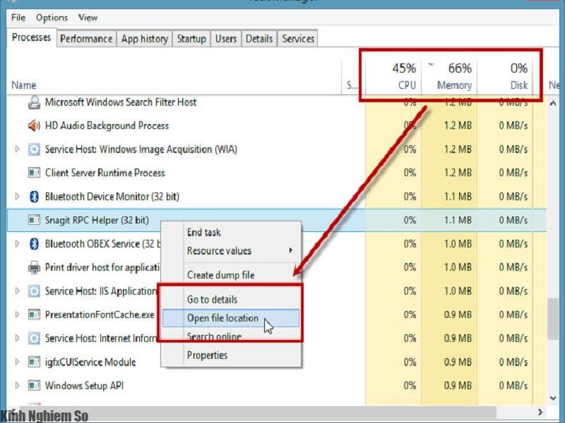 Khắc phục lỗi CPU quá tải, CPU chạy 100% cho máy tính, Laptop hình 2