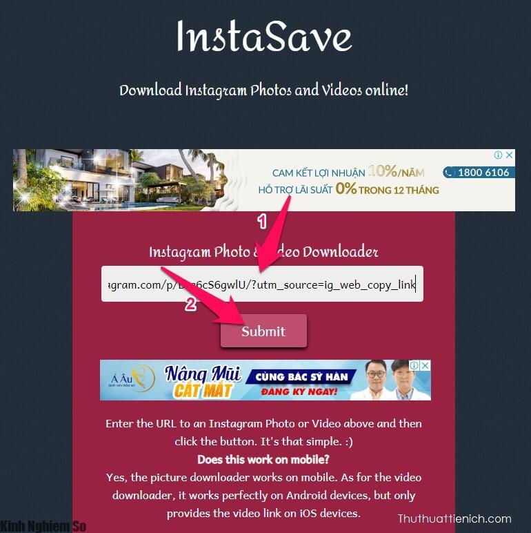 Cách tải hình ảnh, video trên Instagram về máy tính, điện thoại cực kì đơn giản ảnh 2