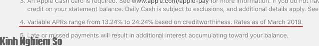 """Apple Card, thẻ tín dụng có mức lãi suất """"thấp nhất"""" là bao nhiêu hình 1"""