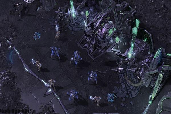 Giao diện trong game Starcraft 2 Legacy Of The Void trên PC
