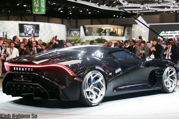 Siêu xe Bugatti La Voiture Noire giá 19 triệu USD đắt nhất thế giới hình 1