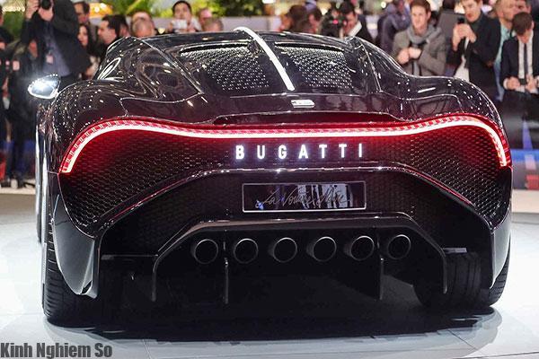 Siêu xe Bugatti La Voiture Noire giá 19 triệu USD đắt nhất thế giới hình 2