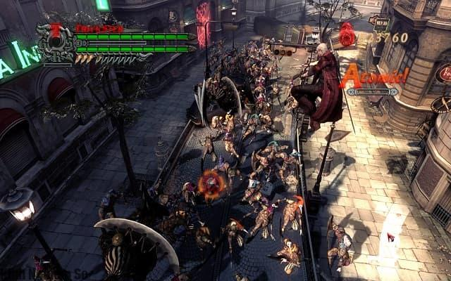 Tải Game Devil May Cry 4 Special Edition Full chặt chém hấp dẫn hình 2