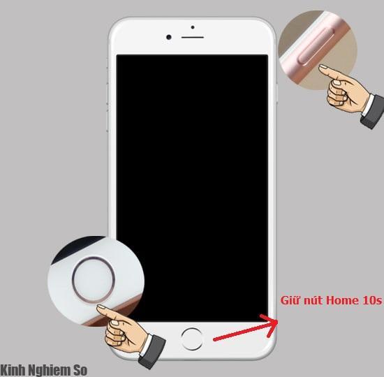 Thủ thuật sửa lỗi iPhone tự tắt nguồn, sập nguồn thành công hình 5