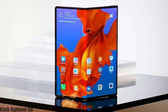 Màn hình gập Mate Huawei đầu tiên chính thức được niêm yết