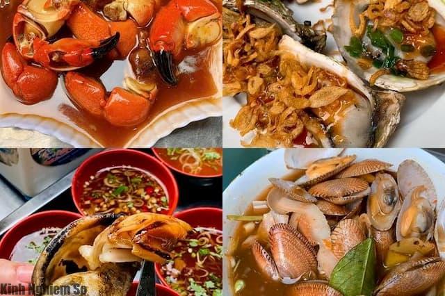 Ăn gì ở Long Hải