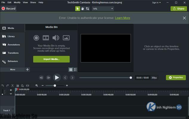 Hướng dẫn chèn Logo vào Video bằng Camtasia Studio