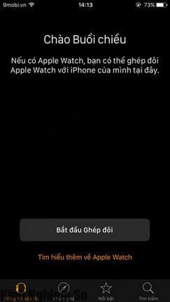 Tắt tiếng Apple Watch