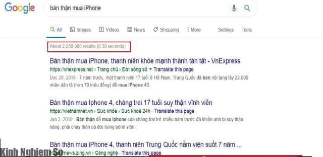 Bán thận mua iPhone... Những câu chuyện có thật