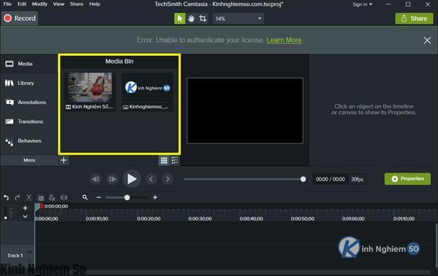 Cách chèn Logo vào Video bằng Camtasia Studio hình 4