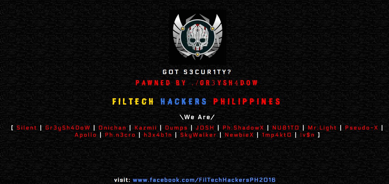 Hackers Philippines attacked the Vietnamese web, retaliated