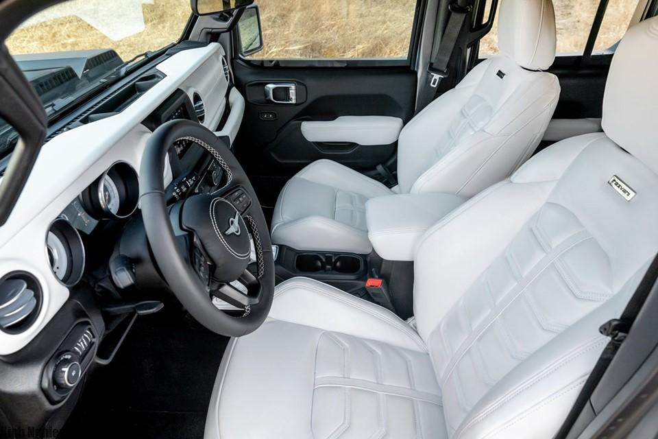 Xe REZVANI TANK 2020 - SUV mạnh nhất thế giới hình 2