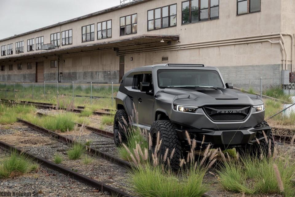 Xe REZVANI TANK 2020 - SUV mạnh nhất thế giới hình 3