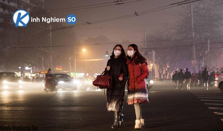 Khẩu trang chống bụi PM2.5