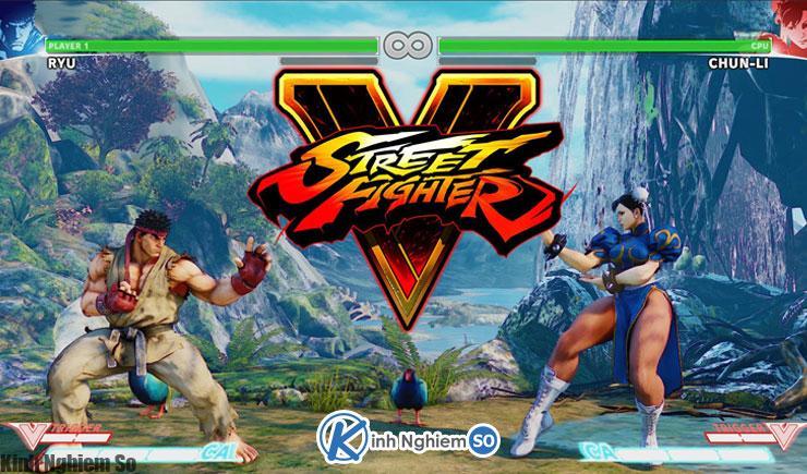 Chơi game Street Fighter V