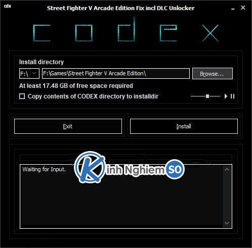 Sửa lỗi Street Fighter V