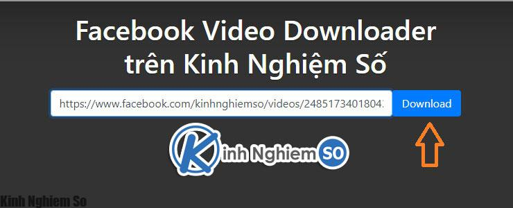 Cách tải video Facebook về máy tính