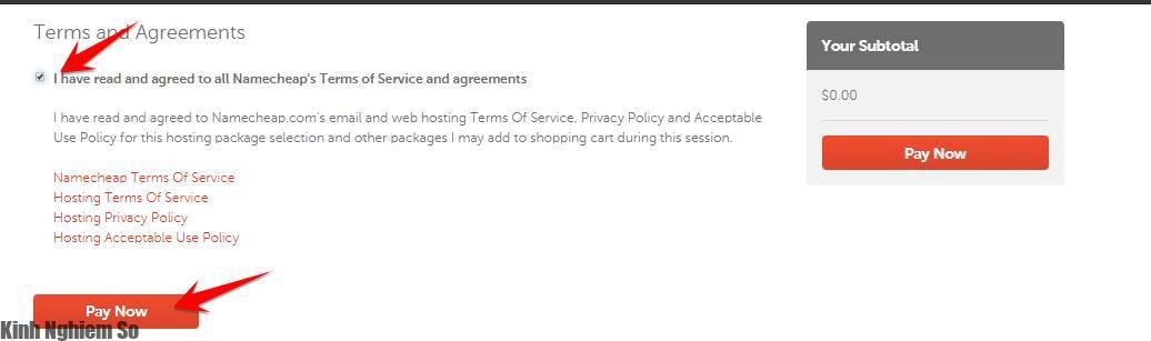 Đăng ký Domain, Hosting miễn phí trên Namecheap hình 2