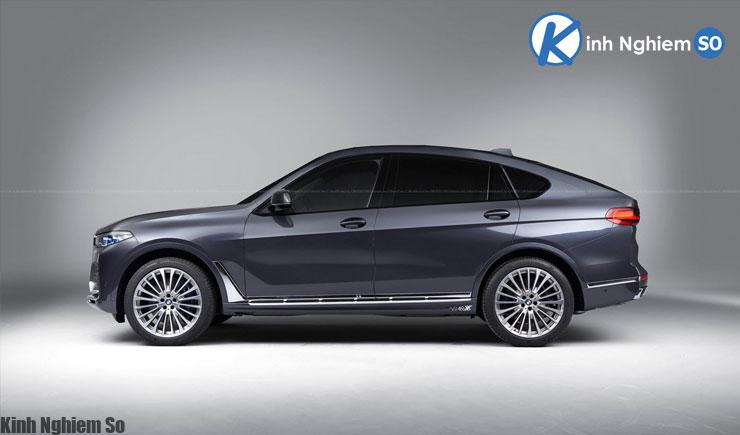 Đánh giá xe BMW X8 2020 về thiết kế thân xe