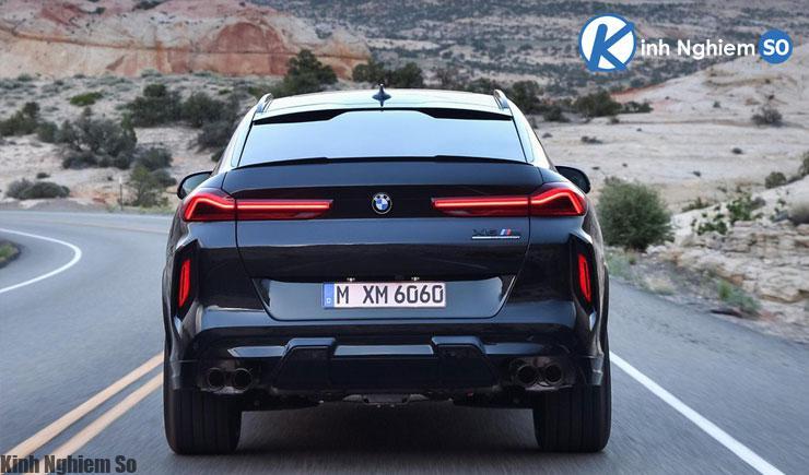 Đánh giá xe BMW X8 2020 về thiết kế đuôi xe