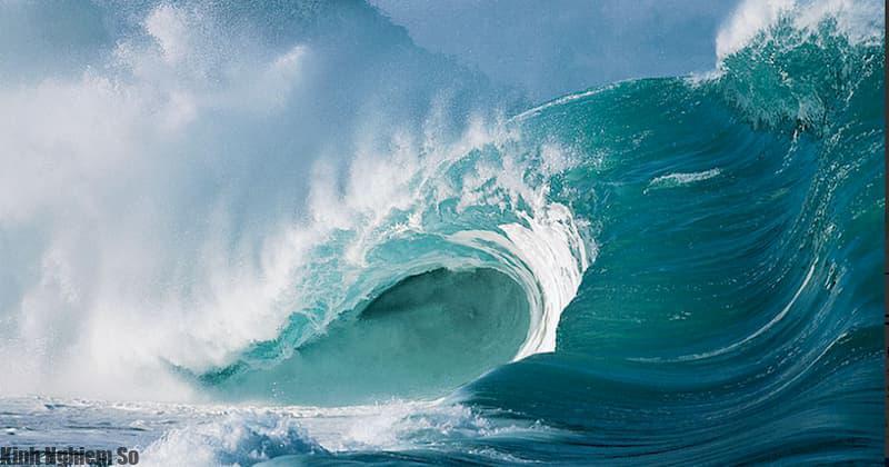 Nước biển khác hoàn toàn nước lọc mà chúng ta uống