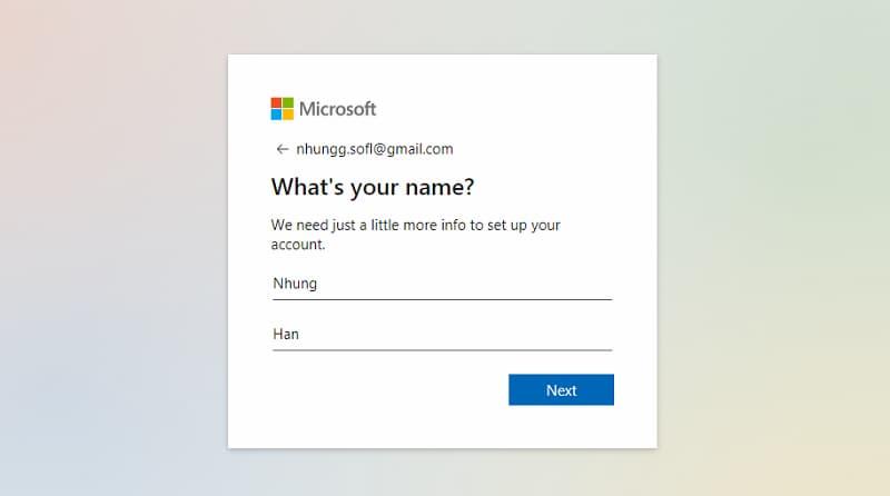 Hướng dẫn tạo tài khoản Microsoft nhanh nhất ảnh 1