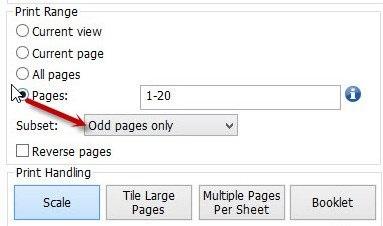 Cách in hai mặt trong file PDF