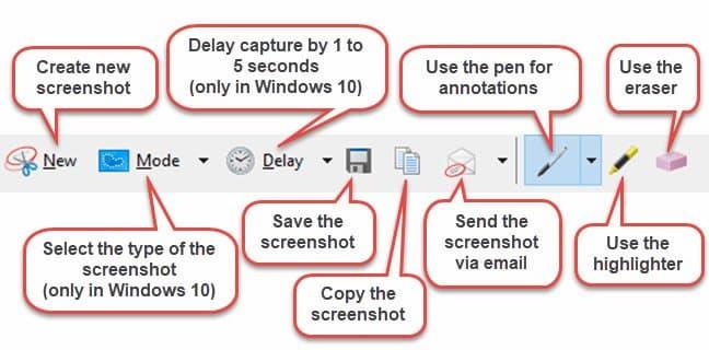 Hướng dẫn chỉnh sửa ảnh chụp màn hình bằng Snipping Tool ảnh 2