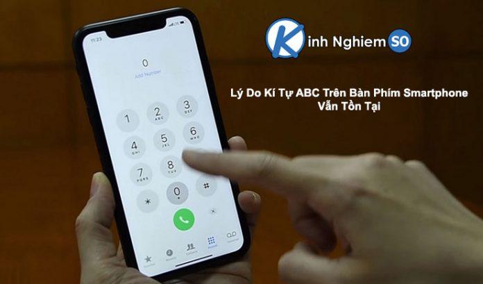 Kí tự ABC trên bàn phím smartphone vẫn tồn tại