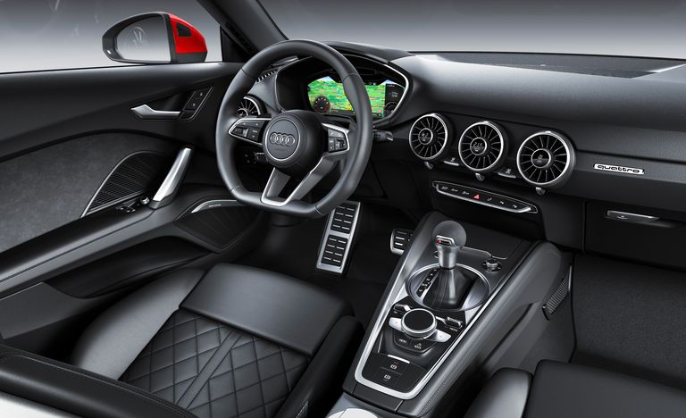 Giao diện xe Audi TT RS 2021