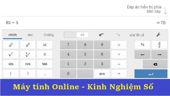 Máy tính online