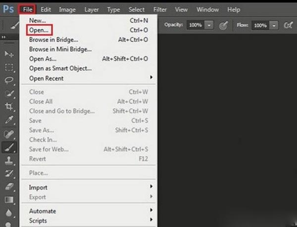 Cách giảm dung lượng file ảnh bằng Photoshop