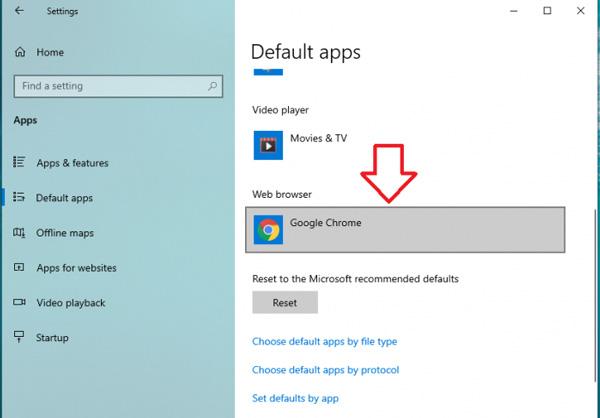 Cách chặn trình duyệt Microsoft Edge tự động