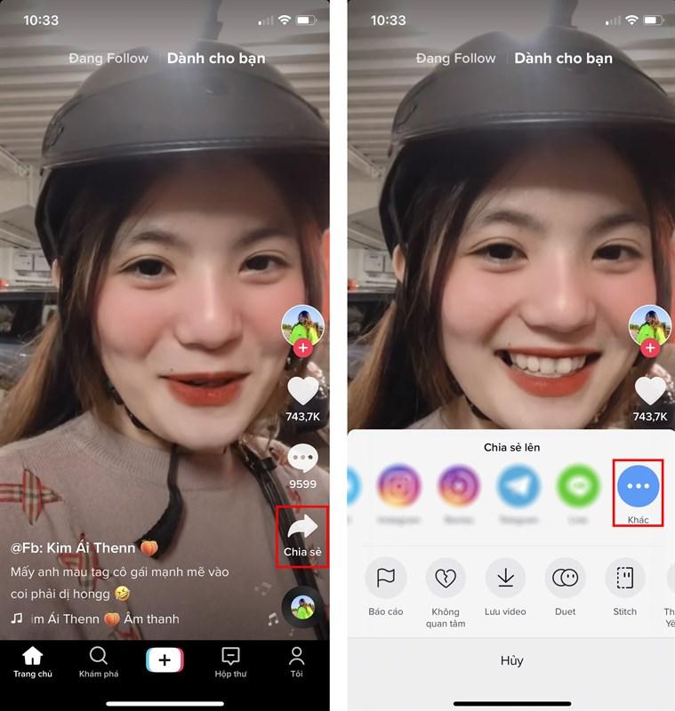 Hướng dẫn tải video TikTok không có logo trên iPhone ảnh 3