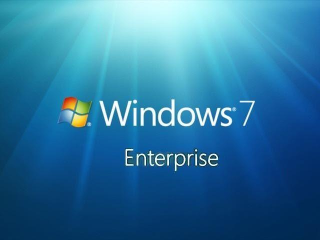 Download Windows 7 Enterprise