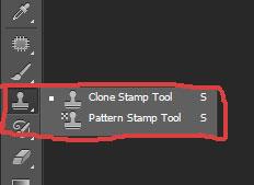 Sử dụng công cụ Clone stamp tool