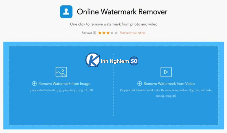 Sử dụng Phầm mềm Apowersoft Watermark Remover xóa logo trên ảnh