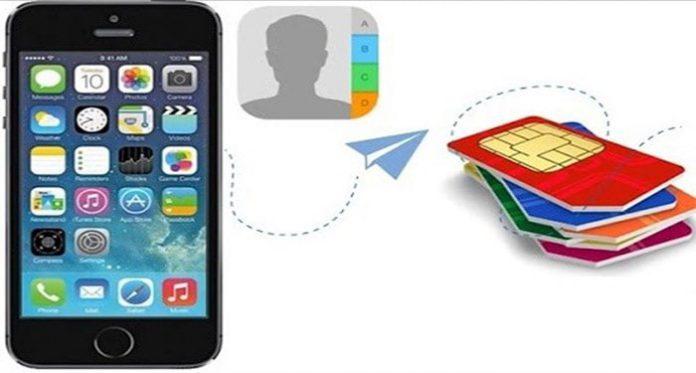 Cach chuyen danh ba tu SIM sang iPhone