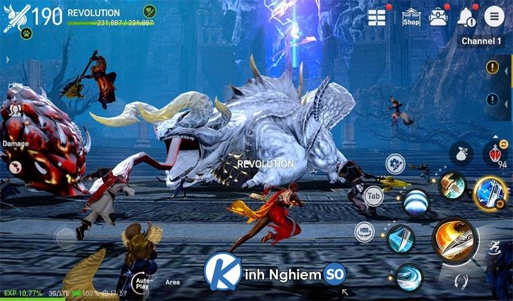 Giới thiệu game Blade and Soul