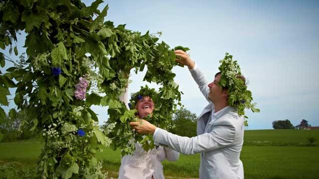 Sự kiện ăn mừng ngày Hạ Chí ở Thụy Điển