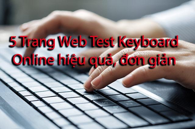 Test keyboard online