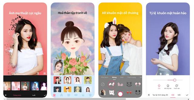 App Meitu - App chỉnh ảnh Trung Quốc