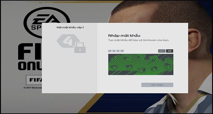 Đăng nhập vào game FIFA Online 2